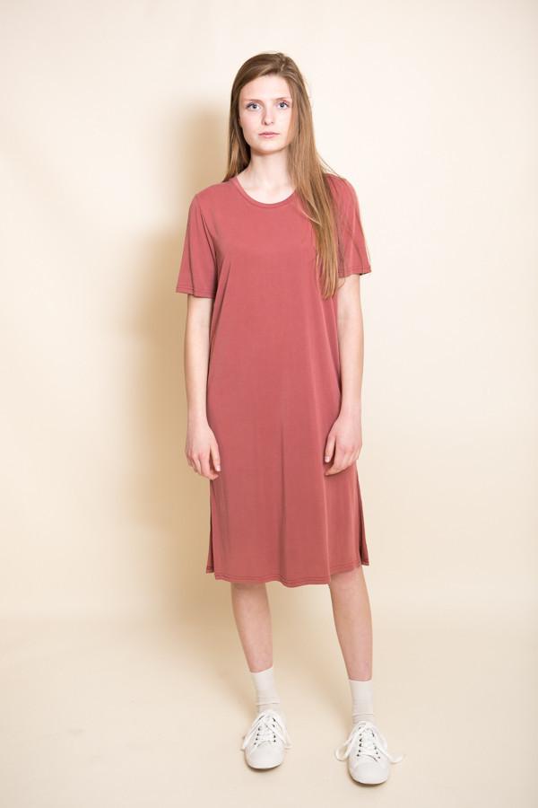Just Female Pen Dress / Marsala Red