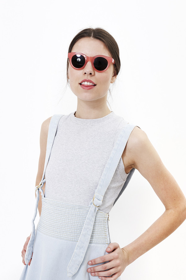 Nanushka Dasa Dungarees Dress