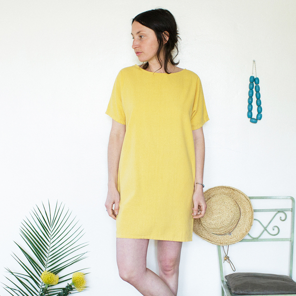 Me & Arrow  Sleeve Dress Sunflower