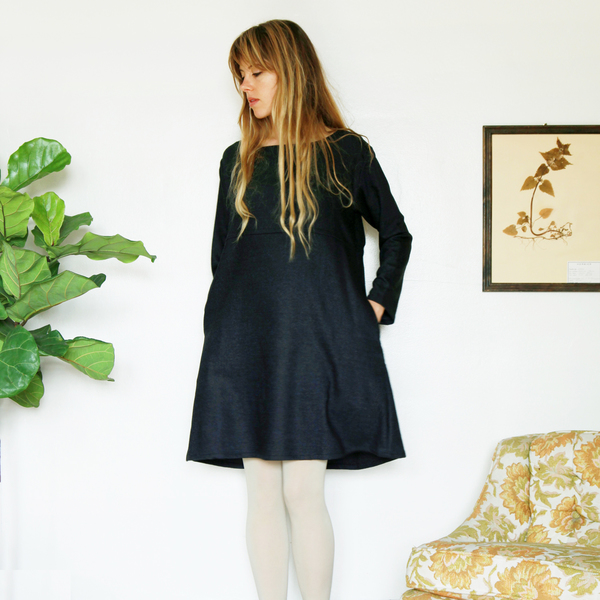 Unknown LS Basic Dress<br>Stardust Speckle
