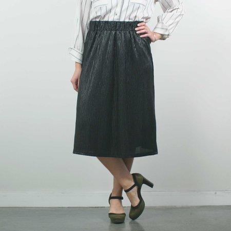 Allison Wonderland Captain Skirt - Black