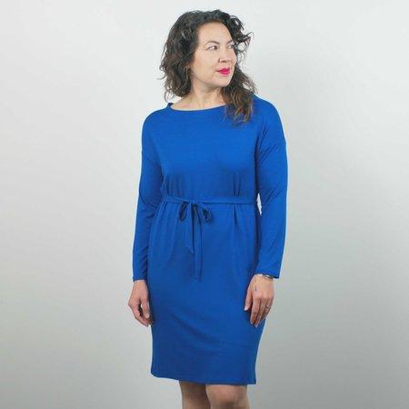 Sarah Liller Mae Dress - Prussian Blue