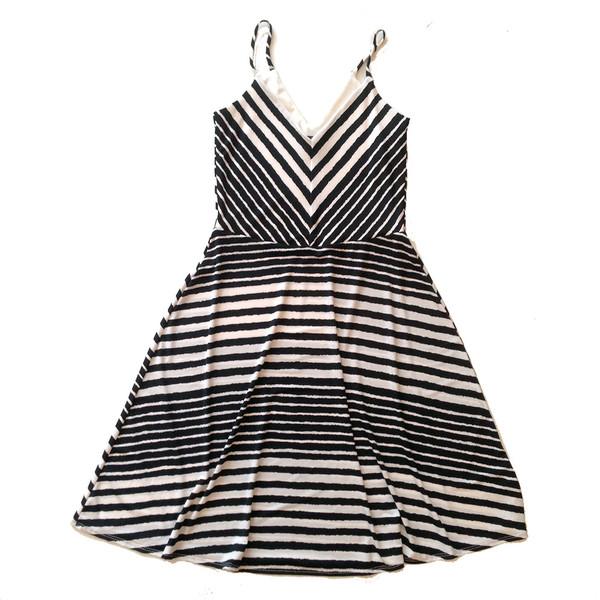 Cherry Bobin Stripes Dress