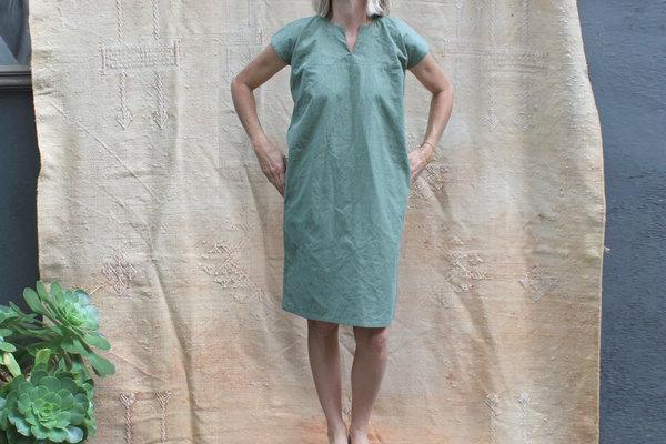 pietsie Sayulita Dress in Vintage Army