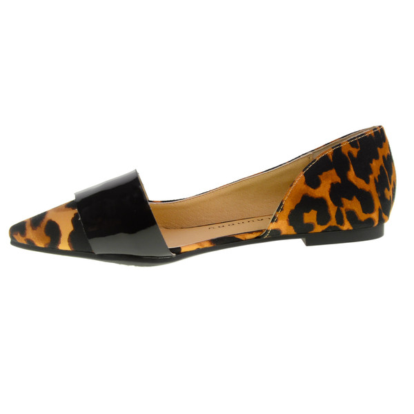 Chinese Laundry Endless Leopard Flats