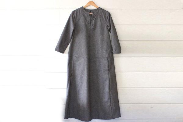 pietsie Tangier Dress in Railroad Ticking