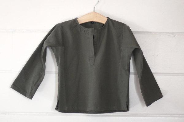 pietsie Atlas Shirt in Vintage Army