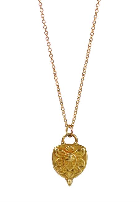 Lulu Designs Prana Necklace - Yellow Bronze