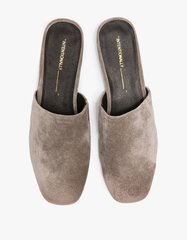 Intentionally Blank TOUCH in GREY SUEDE