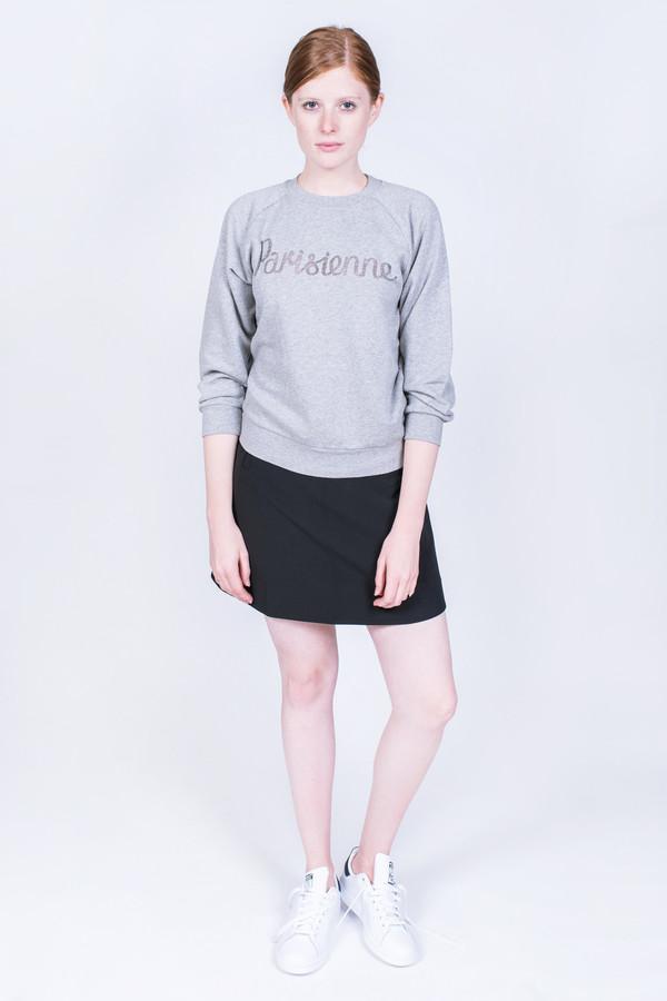 Maison Kitsune Sweatshirt Sheer Parisienne