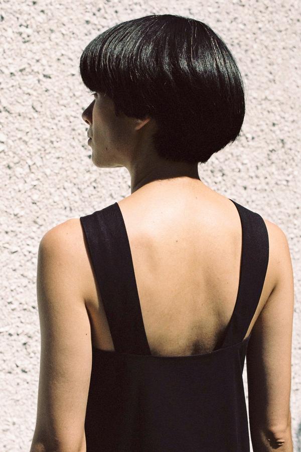 Shaina Mote Sarong Dress - ink