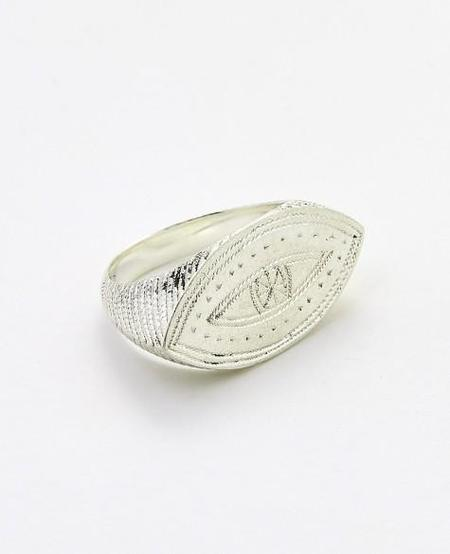 Ombre Claire Charly silver ring