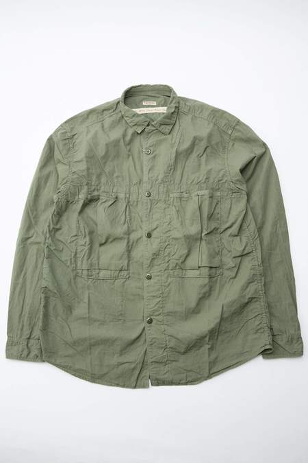 Kapital Broad Cloth Anorak Shirt - Khaki