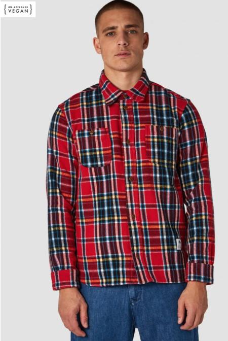 kings of indigo checked Flannel Shirt