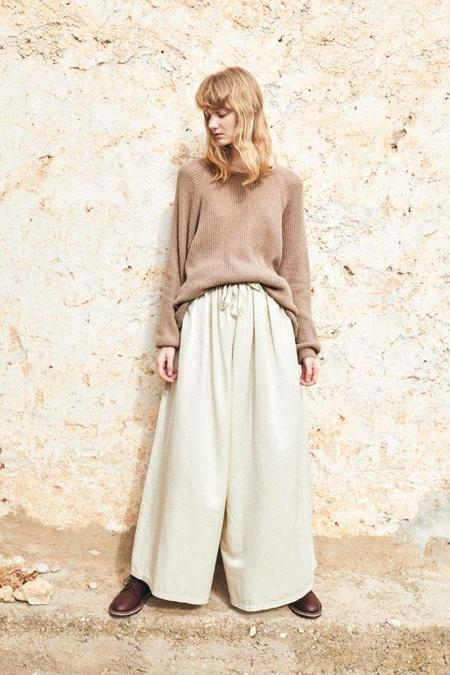 Revisited silk cotton pant