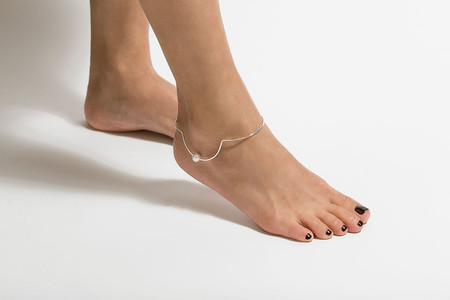 Vibe Harslof Anklet 1 Pearl