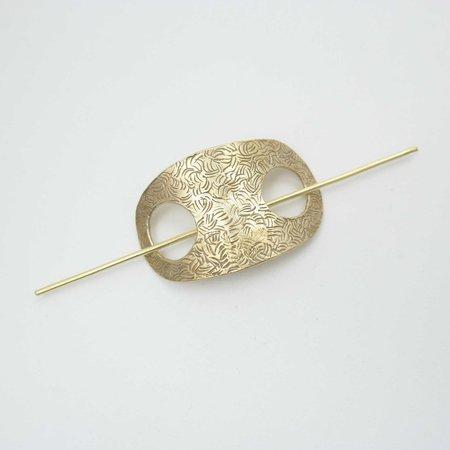 Rebekah J Designs Hair Slide - Brass