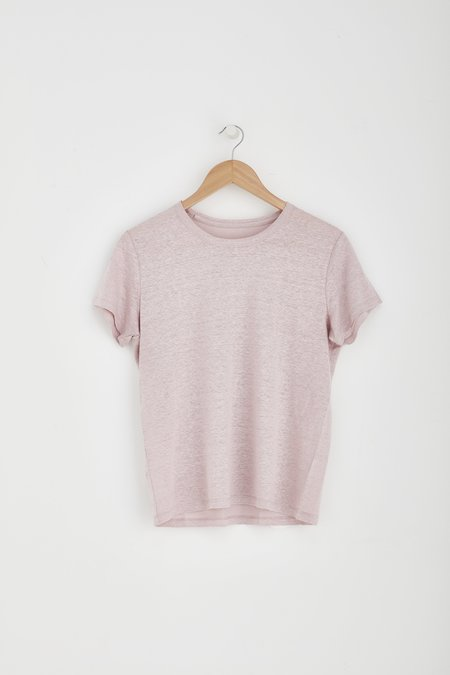 Laing Home Essential Linen Tee - Blush