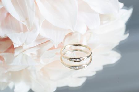 Jennie Kwon Designs White Diamond Float Ring