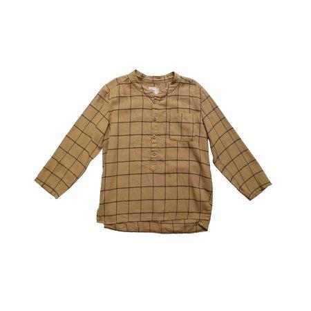 kids nico nico Pema Flannel Shirt - Curry Check