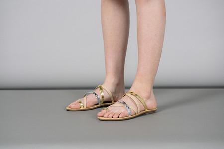 Loeffler Randall Sarie Strappy Thong Flat Sandals