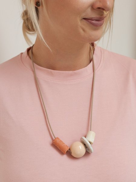 The Pursuits of Happiness Shapes Necklace