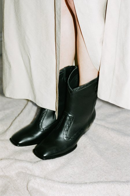 Mari Giudicelli Chimayo Boot in Nero