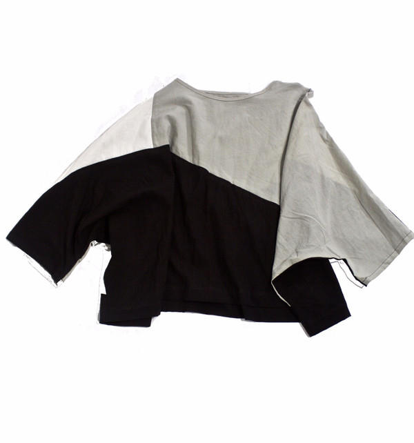 Uzi Disecton Color Block Top