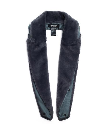 Undercover Faux Fur Collar - Grey