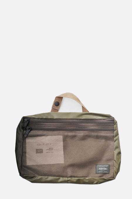 Porter Large Snack Pack Pouch - Olive