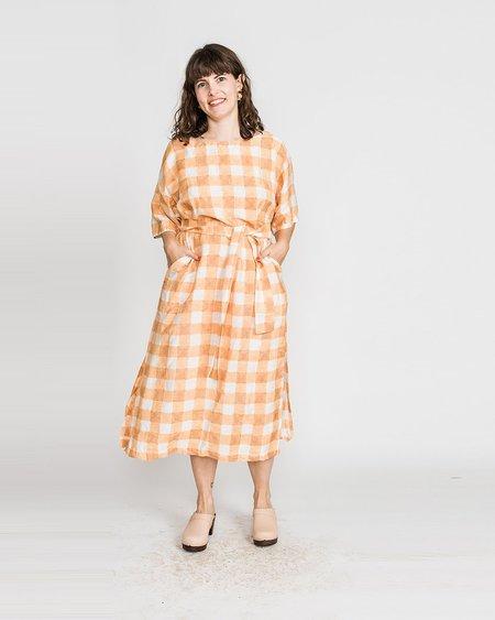 PO-EM Shammy Dress - Autumn Picnic