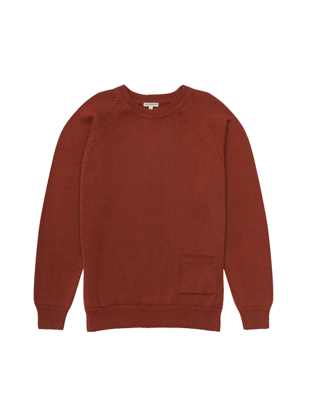 Knickerbocker Barge Sweater - Brick