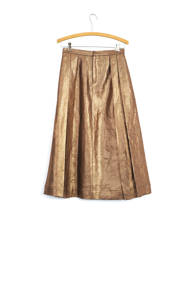 Carleen Pressed Penny Skirt