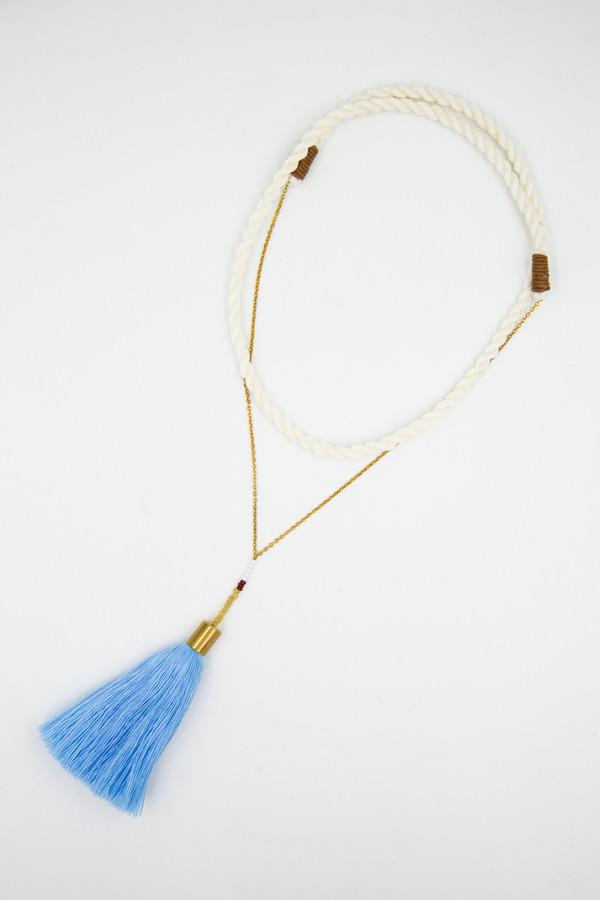 Ora-C Alice Necklace in Blue