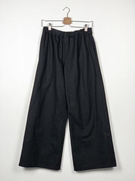 Devlyn Van Loon Organic Canvas Straight Leg Pant - Black