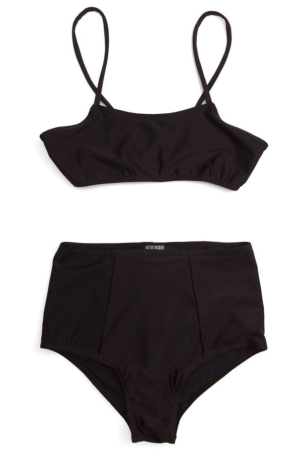 REIFhaus High Swim Bottom Black