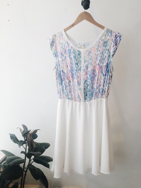 Eve Gravel Granita Dress