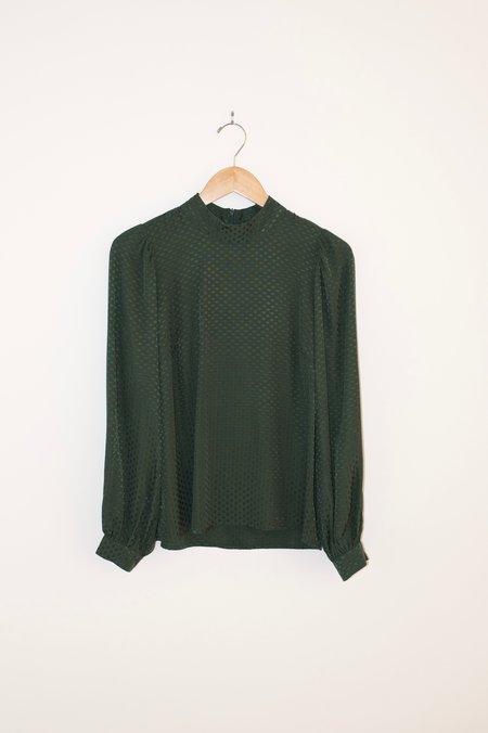 Just Female Eve Blouse - Dark Green
