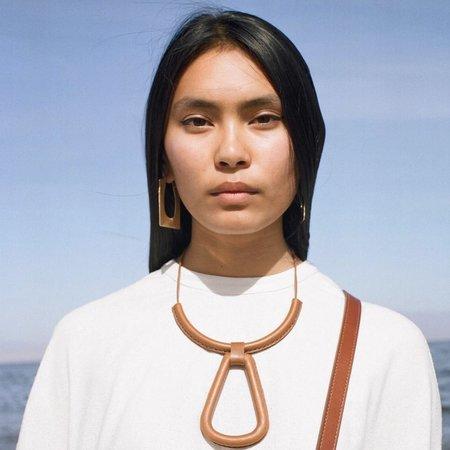 Crescioni Eva Earrings - Brass