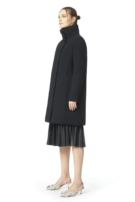 ADD Coat with Down Padding - Black