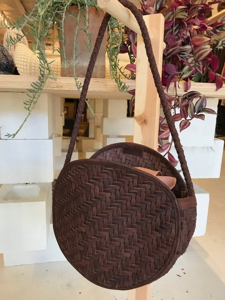 Bembien Audrey Nubuck Leather Bag - Buffalo Chestnut