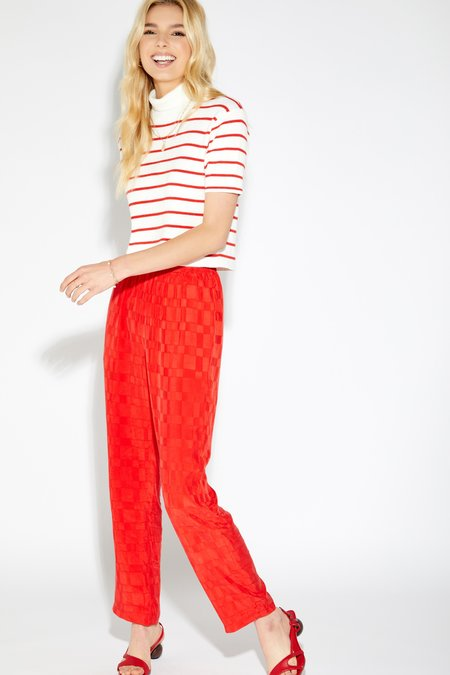 Callahan Lucy Turtleneck - Candy Red