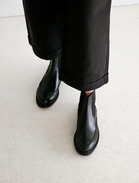 Robert Clergerie Rachel Chelsea Boot - Black