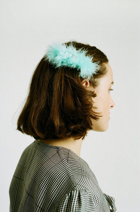 WALD Marie Antoinette Hairclip - Turquoise