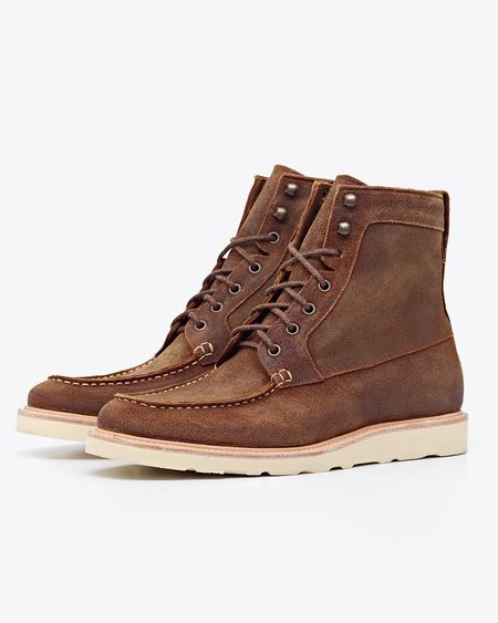 Nisolo Mateo All Weather Boot - Waxed Brown
