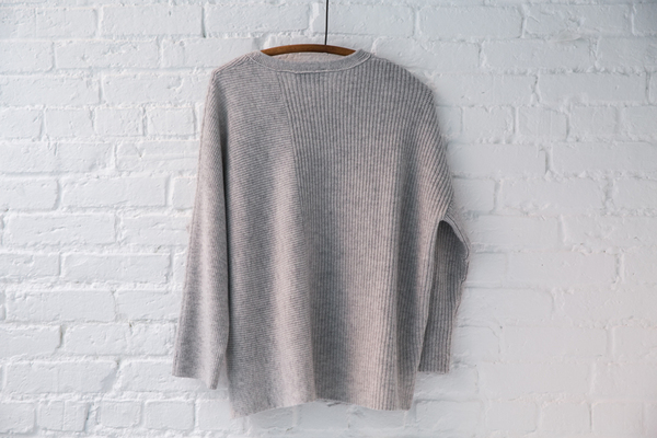 Allude Rib Sweater