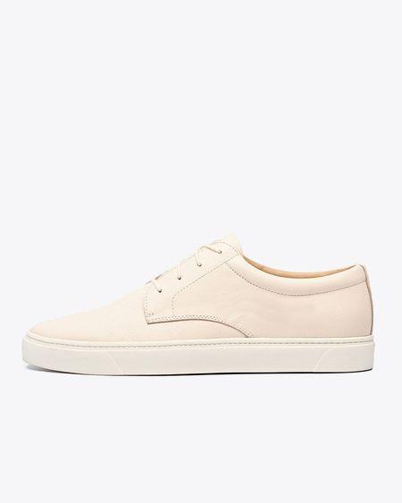 Nisolo Diego Low Top Sneaker - Bone