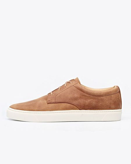 Nisolo Diego Low Top Sneaker - Tobacco