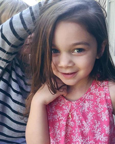 Kids Luna & Stella Birthday or Lucky Charm Necklace - Silver