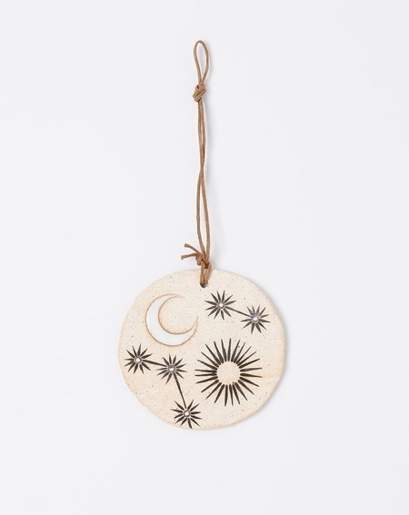 MQuan Large Round Ornament - Sun Moon Stars